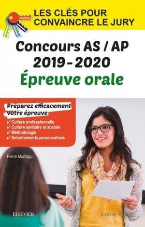 Concours aide-soignant et auxiliaire de puériculture 2019-2020 - elsevier / masson - 9782294763694 -