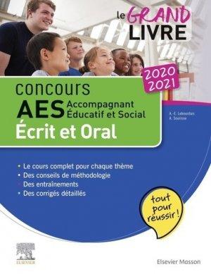 Concours AES 2020-2021 Le grand livre - elsevier / masson - 9782294765063 -