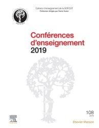 Conférences d'enseignement 2019 - elsevier / masson - 9782294766756 -