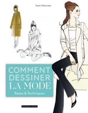 Comment dessiner la mode - dessain et tolra - 9782295007940 -