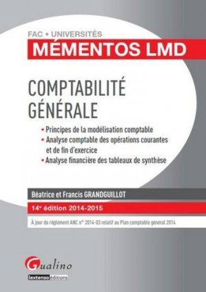 Comptabilité générale 2014-2015 - gualino - 9782297039567 -