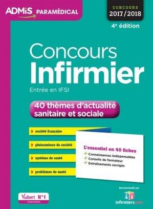 Concours Infirmier - vuibert - 9782311202977 -