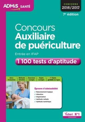 Concours Auxiliaire de puériculture - Vuibert - 9782311202991 -