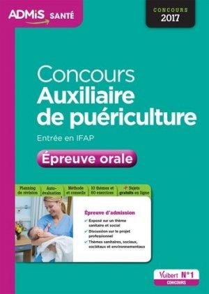Concours auxiliaire de puériculture - vuibert - 9782311204025 -