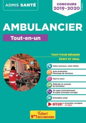 Concours ambulancier tout en un - vuibert - 9782311205121 -