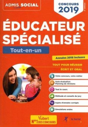 Concours éducateur spécialisé - Tout-en-un 2019 - vuibert - 9782311205251