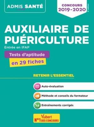 Concours Auxiliaire de puériculture - Tests d'aptitude - vuibert - 9782311205299 -
