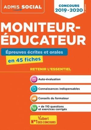 Concours Moniteur-éducateur - Épreuves écrites et orales - vuibert - 9782311205343 -