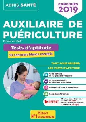 Concours Auxiliaire de puériculture concours 2019 - vuibert - 9782311207323 -