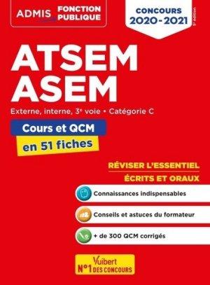 Concours ATSEM/ASEM - vuibert - 9782311208078 -