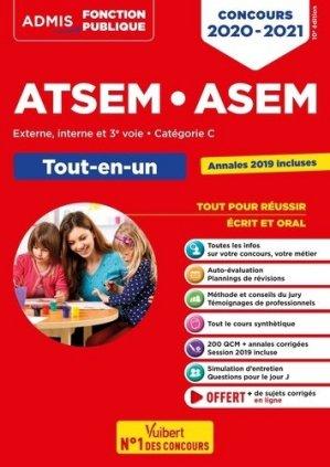 Concours ATSEM ASEM - Tout en un - vuibert - 9782311208245 -