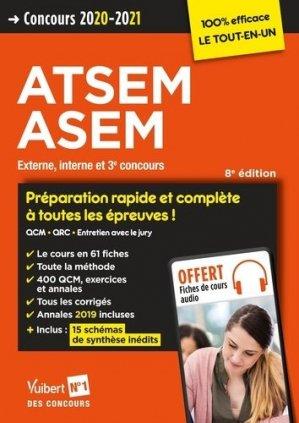 Concours ATSEM ASEM - vuibert - 9782311208252 -