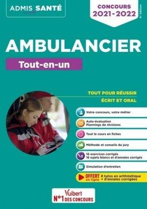Concours ambulancier - vuibert - 9782311208269 -
