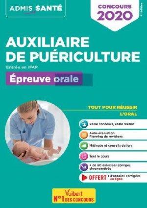 Concours auxiliaire de puériculture - Vuibert - 9782311209174 -