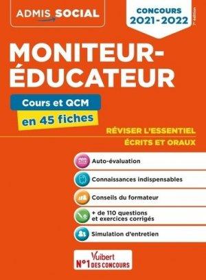 Concours moniteur-éducateur - vuibert - 9782311209402 -
