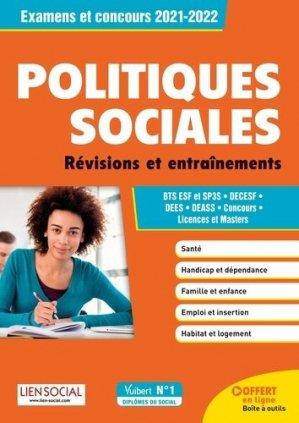 Connaissance des politiques sociales - Vuibert - 9782311209549 -