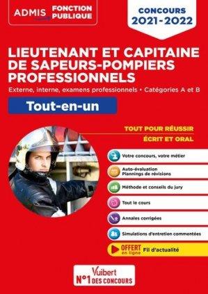 Concours Lieutenant et Capitaine de sapeurs-pompiers professionnels - vuibert - 9782311209686 -