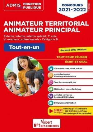 Concours Animateur territorial Animateur principal externe, interne, interne spécial, 3e voie et examens professionnels, catégorie B - Vuibert - 9782311211467 -
