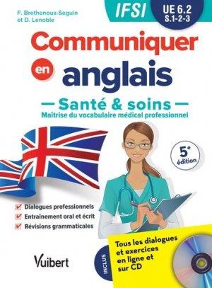 Communiquer en Anglais Santé & Soins - estem - 9782311660623 -