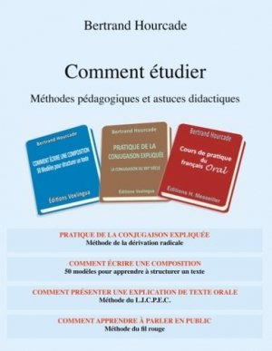 Comment étudier. Méthodes pédagogiques et astuces didactiques - Books on Demand Editions - 9782322082735 -