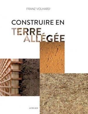 Construire en terre allégée - actes sud - 9782330050504 - https://fr.calameo.com/read/000015856623a0ee0b361