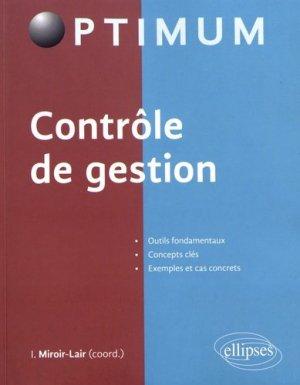 Contrôle de gestion - Ellipses - 9782340018341 -