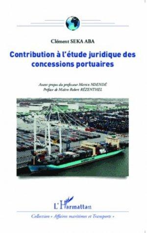 Contribution à l'étude juridique des concessions portuaires - l'harmattan - 9782343048345 - https://fr.calameo.com/read/005370624e5ffd8627086
