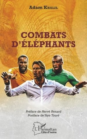 Combats d'éléphants - l'harmattan - 9782343197678 -