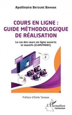 Cours en ligne : guide méthodologique de réalisation - l'harmattan - 9782343209852 -