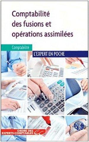 Comptabilité des fusions et opérations assimilées - Expert Comptable Média - 9782352671992 -
