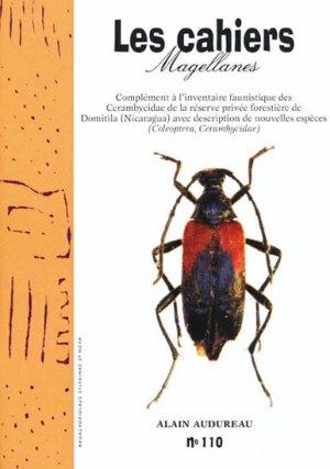 Complément à l'inventaire faunistique des Cerambycidae de la réserve privée forestière de Domitila (Nicaragua) avec description de nouvelles espèces - magellanes - 9782353870707 -