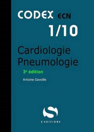 CODEX 01/10 Cardiologie pneumologie - s editions - 9782356402158 -