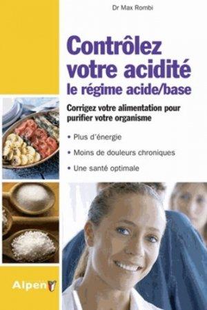 Contrôlez votre acidité - alpen - 9782359341737 -