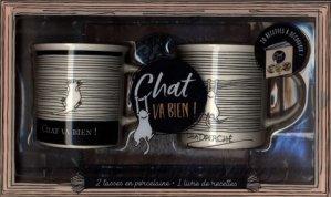 Coffret chat va bien ! Avec 2 tasses en porcelaine - I2C - 9782360914487 -