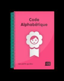 Code alphabétique GS - de la cigale - 9782363610003 -