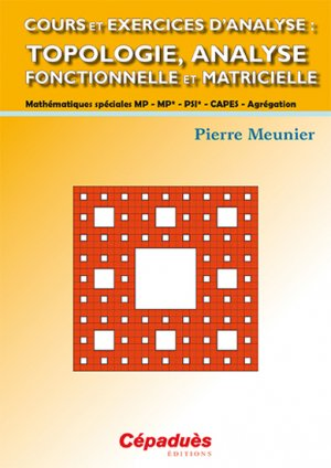 Cours et exercices d'analyse - cepadues - 9782364931466 -