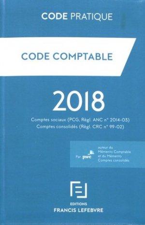 Code comptable - Francis Lefebvre - 9782368933626 -