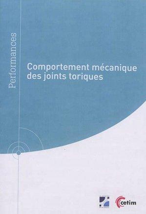 Comportement mécanique des joints toriques - cetim - 9782368941003