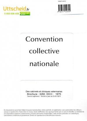Convention collective nationale des cabinets et cliniques vétérinaires 2016 + grille de salaire - uttscheid - 9782371554344
