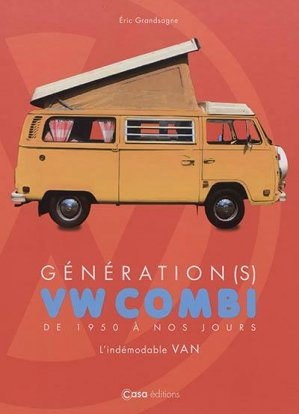 Combi van Volkswagen - casa  - 9782380581126 -