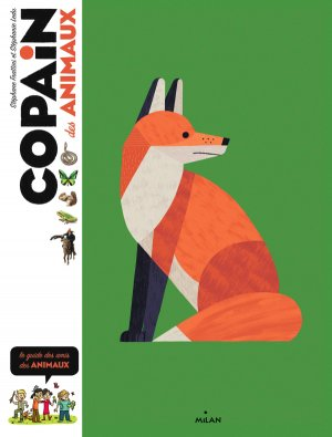 Copain des animaux - milan - 9782408013837 -