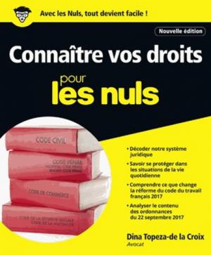 Connaître vos droits pour les nuls - first editions - 9782412031179 -