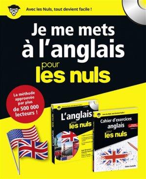 Coffret - Je me mets à l'anglais pour les Nuls - first  - 9782412035764 -