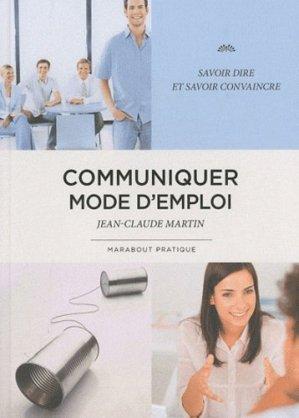 Communiquer mode d'emploi - Marabout - 9782501065948 -