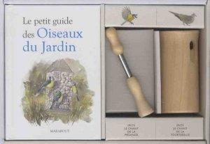 Coffret Le petit guide des oiseaux du jardin - marabout - 9782501118569 -