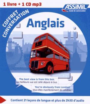 Coffret Conversation Anglais - assimil - 9782700541328 -