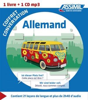 Coffret Conversation Allemand - assimil - 9782700541373 -