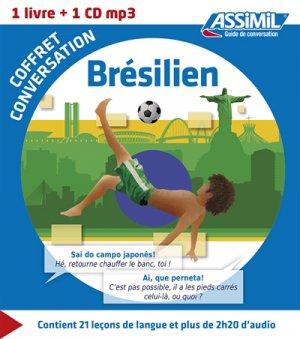 Coffret Conversation Brésilien - assimil - 9782700541397 -
