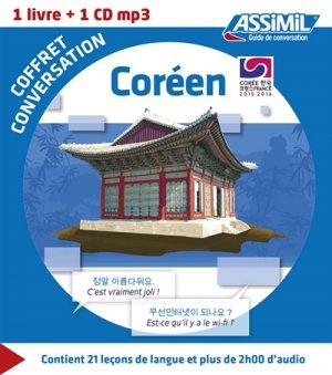 Coffret Conversation Coréen - assimil - 9782700541403