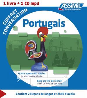 Coffret Conversation Portugais - assimil - 9782700541441 -